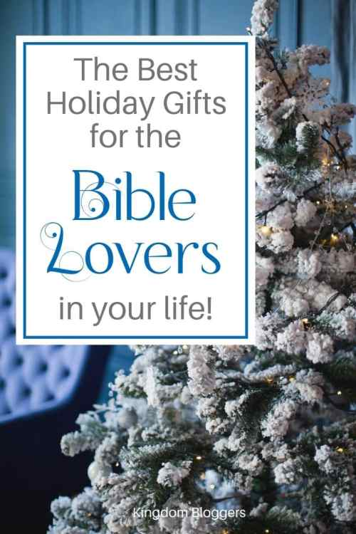 gifts for bible lovers