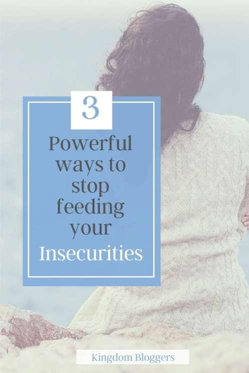 feeding my insecurities