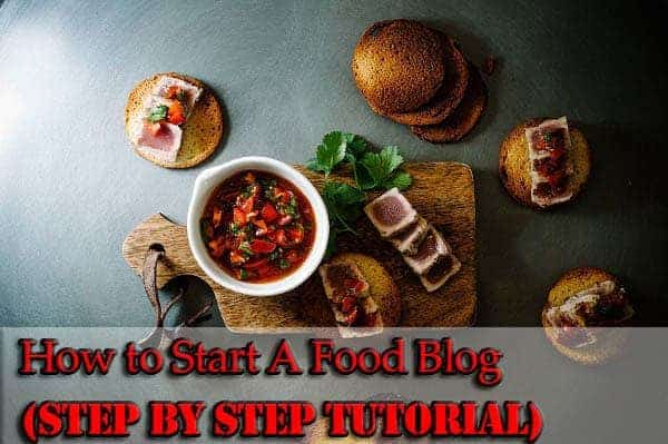 how to start food blog