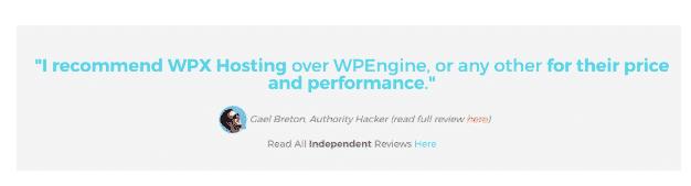 recensione di blogger wpx
