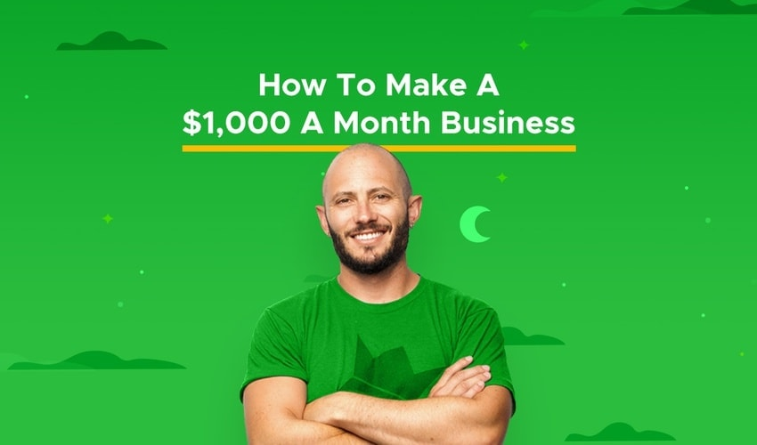 how to make a 1000 a month business course