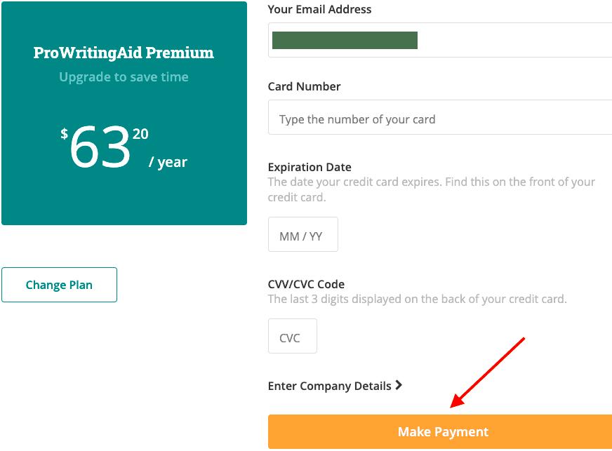 prowritingaid payment