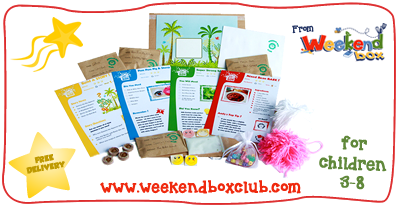 Blogger outreach assignment: Weekend Box is looking for Mummy/Daddy/Family/Lifestyle bloggers to review a crafty activity box for children aged 3-8