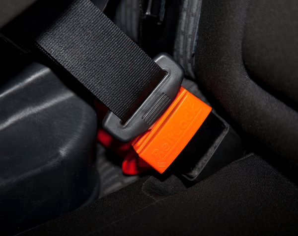 Blogger outreach assignment: Beltlock: Keep kids from opening the seatbelt securing the car seat