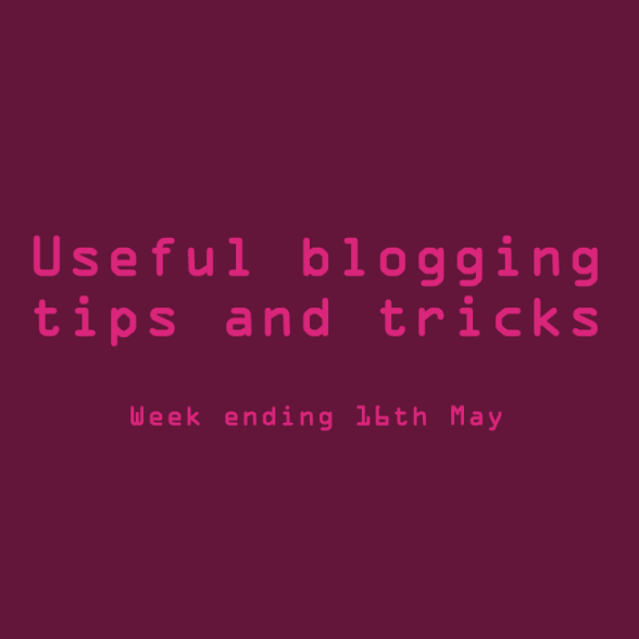Useful blogging tips and tricks