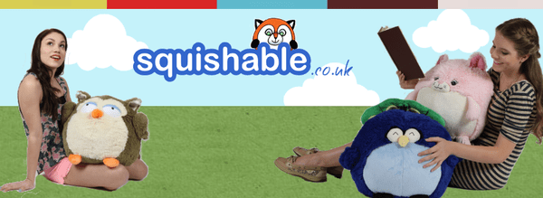 Blogging assignment: Product Review: Squishable - they're giant round fuzzy stuffed animals!