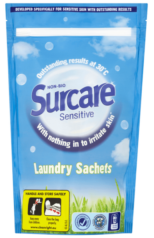 Blogging assignment: Surcare Laundry Sachets