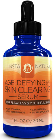 Blogging assignment: Age-Defying Skin Clearing Serum Review (UK bloggers)