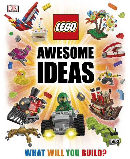 Blogging assignment: Children's Book Review - Lego Awesome Ideas (UK bloggers)