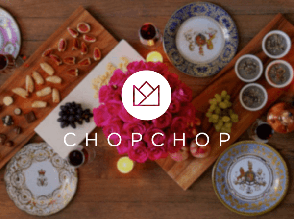 Blogging assignment: Join us for a free cooking class with CHOPCHOP, your artificial intelligence chef! (UK bloggers)