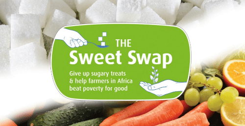 Blogging assignment: Write a post about Send a Cow's Sweet Swap challenge, using our recipe video and recipe e-book (UK, Worldwide bloggers)