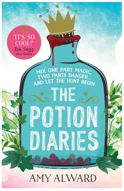 UK blogging assignment: Book review and competition for The Potion Diaries by Amy Alward