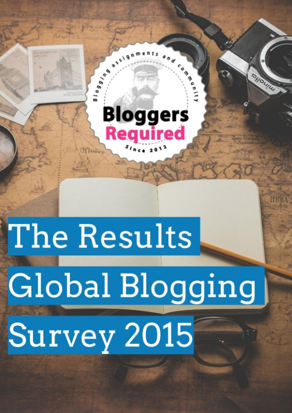 2015 Global Blogging Survey Results