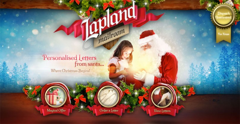 Blogging assignment: Its Christmas!…Laplandmailroom.com sends Personalised Letters from Santa delivered in the post (Worldwide bloggers)