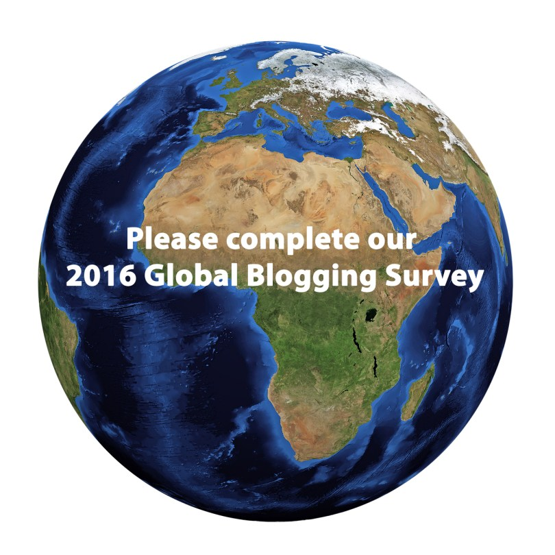 Global Blogging survey 2016