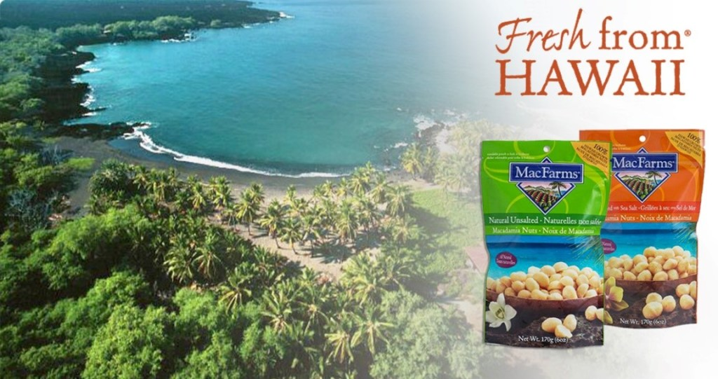 Blogging assignment: Launching MacFarms of Hawaii Range- Canadian Bloggers Only