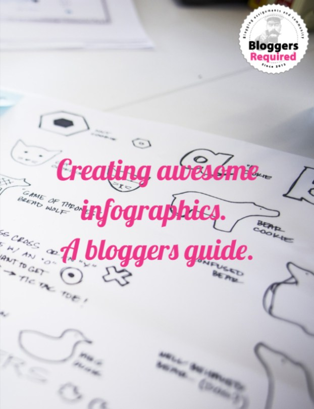 White paper –  Creating awesome infographics. A bloggers guide (Helpful tips, trick and hints)
