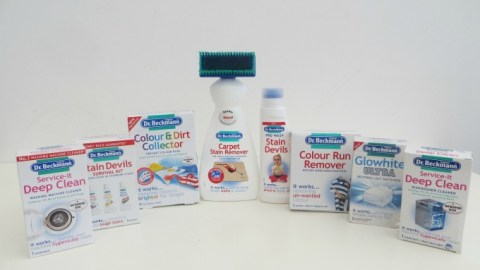 UK Giveaway: A bundle of Dr Beckmann products – Closes 02/19/2017