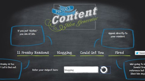 7 Blog idea and title generators to get you started in 2017