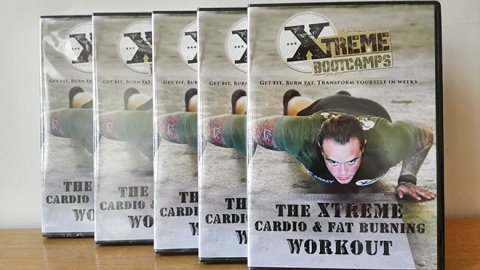 UK Giveaway: Win 1 of 5 Cardio & Fat Burning Workout DVDs from The Xtreme Bootcamps – Closes 02/06/2017
