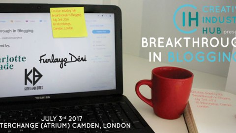 Get Discounted Tickets For 'Breakthrough in Blogging' Camden, London