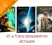 Blogger @etspeaksfrom UK Giveaway: Win a bundle of DVDs – Closes 06/04/2017