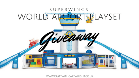 Blogger @craftcartwright UK Giveaway: Win a superwings world airport playset – Closes 09/01/2017