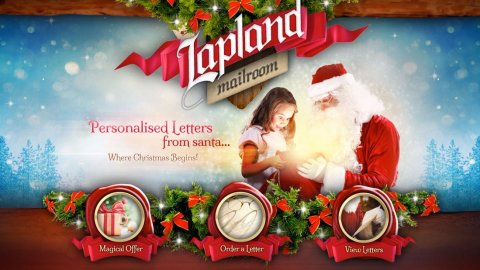 Blogging assignment: Its Christmas!…LaplandMailroom.com FREE Personalised Letters from Santa delivered in the post (UK bloggers) Closes 10/30/2017