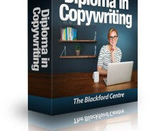 UK & Worldwide blogging assignment: Become a Certified Copywriter! Get an accredited Diploma in Copywriting, through this online course. Closes 28th May 2018
