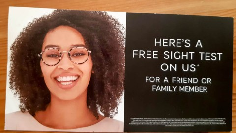 Blogger @ethannevelyn UK Giveaway: A FREE Sight Test* With @marksandspencer Optician – Closes 11th Sept 2018