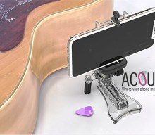 Blogging assignment: Acoustick, universal smartphone holder for any acoustic guitar (UK & European bloggers) Closes 18 Aug 2018