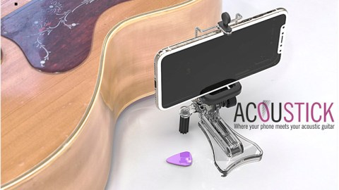 Blogging assignment: Acoustick, universal smartphone holder for any acoustic guitar (UK & European bloggers) Closes 16 Aug 2018