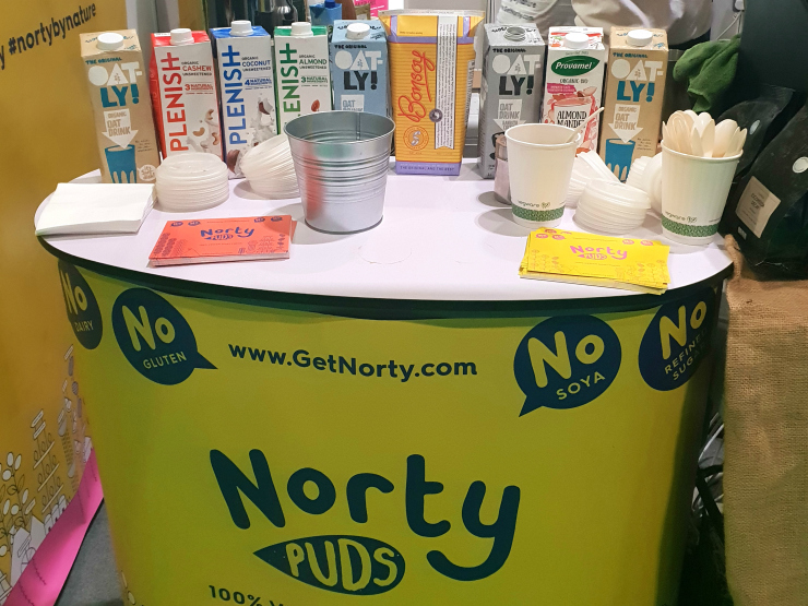 Norty Puds coffee stand