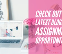 Latest blogging assignments 19th/26th Nov 2018