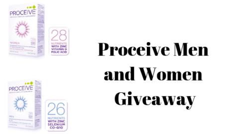 Blogger @stressedmum01 UK Giveaway: @ProceiveUKIRE men and women giveaway – Closes 7th Feb 2019