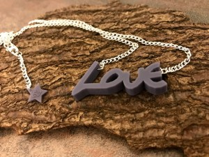 custom-made jewellery using your own, or a loved one's, handwriting