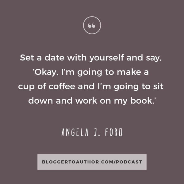 In Episode 6 of the Blogger to Author Podcast, Angela J. Ford shares her tips to help you create an epic book launch for your next book, as well as some great tips to help fiction authors get their books out into the world.