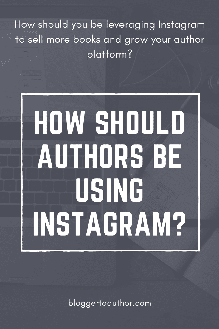 How should authors be using Instagram to build a following and sell more books? Get some great tips for building your Instagram account from an Instagram pro!