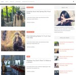 Alison Blogger Template Single Preview