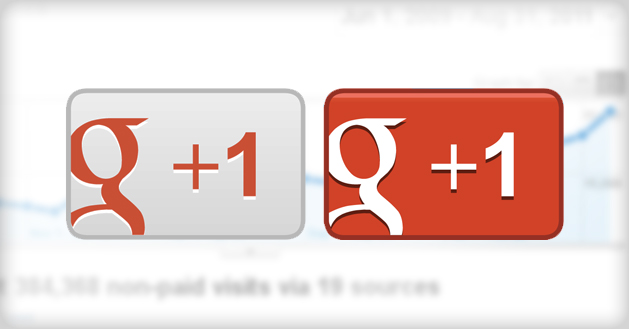 google-plus-button blogger