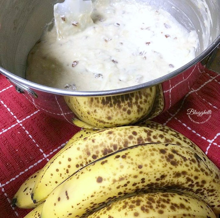 Perfect Banana Bread Batter