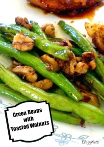 Green Beans with Toasted Walnuts
