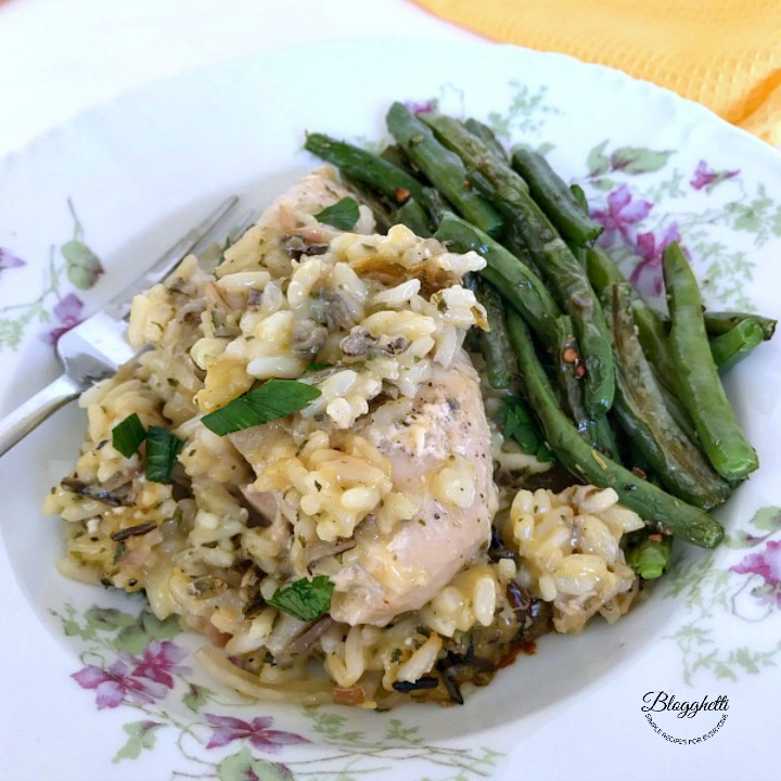 Slow Cooker Creamy Chicken and Wild Rice