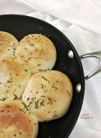 skillet rosemary dinner rolls