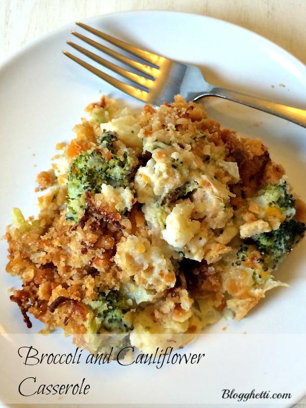 Broccoli and Cauliflower Casserole main