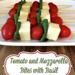 Meatless Monday - Tomato and Mozzarella Bites with Basil