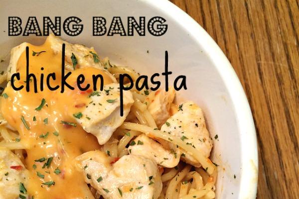 bang bang chicken pasta
