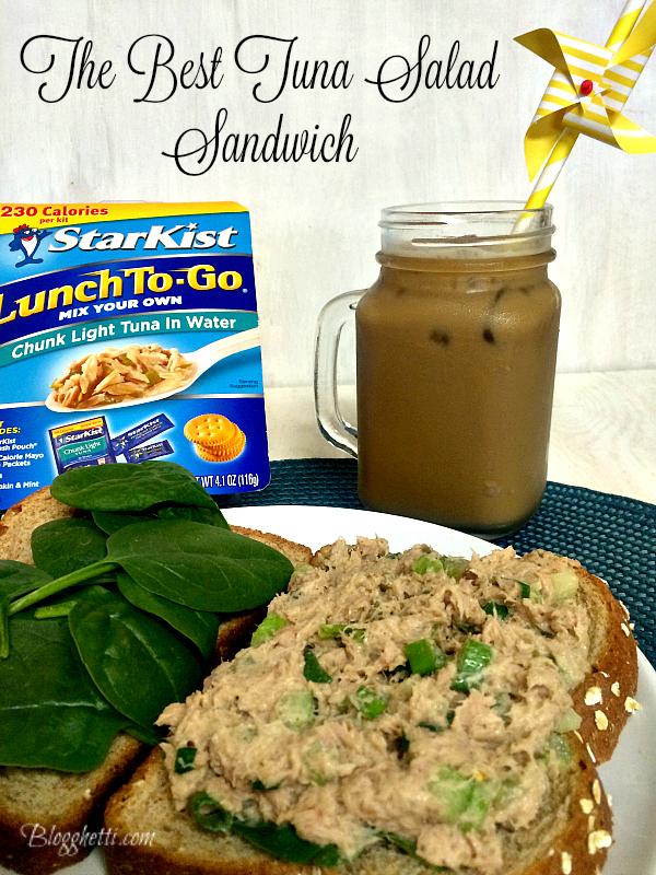 Tuna Salad Sandwich for One1