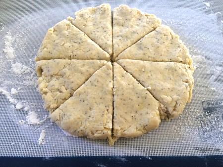 scone wedges