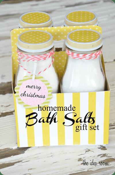 The Idea Room - Homemade Bath Salts GIft Set
